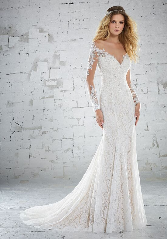 Morilee by Madeline Gardner/Voyage Karolina/6888 Sheath Wedding Dress