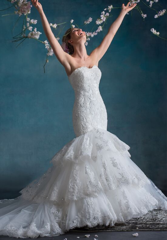 1 Wedding by Mary's Bridal 6529 Mermaid Wedding Dress