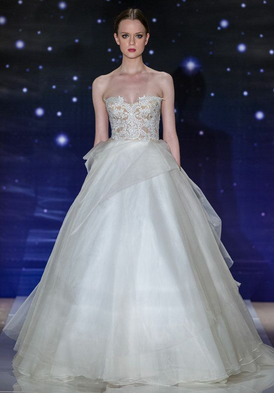Reem Acra She's Wonderful Ball Gown Wedding Dress