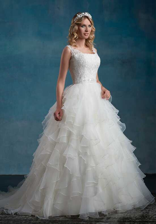 1 Wedding by Mary's Bridal 6557 Ball Gown Wedding Dress