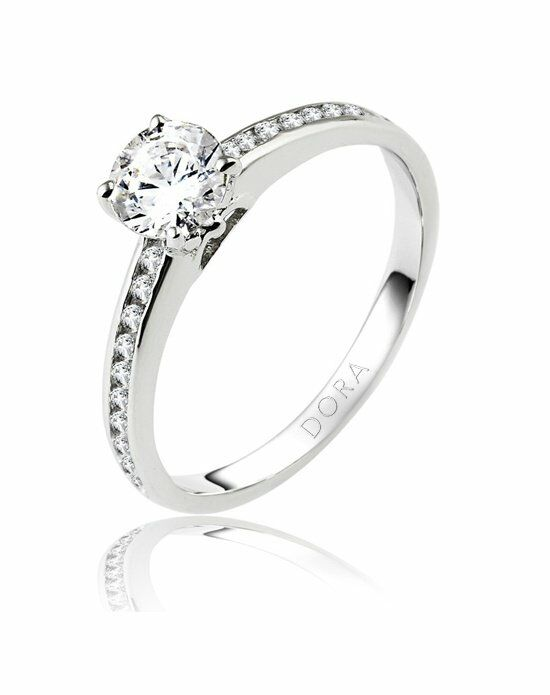 dora rings 8206000 engagement ring the knot