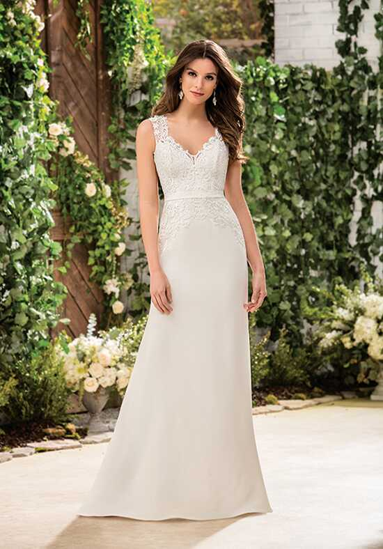 Jasmine Collection F181059 Sheath Wedding Dress