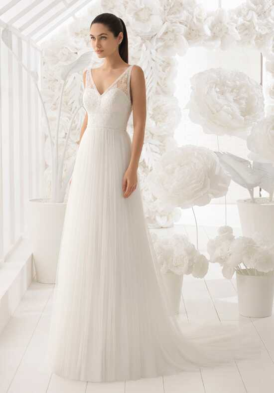 Rosa Clará Soft Lisa A-Line Wedding Dress