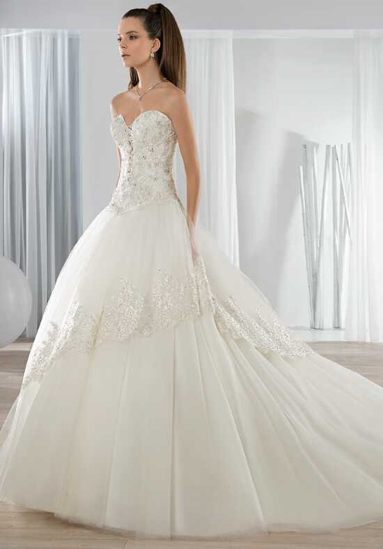 Demetrios 647 Ball Gown Wedding Dress