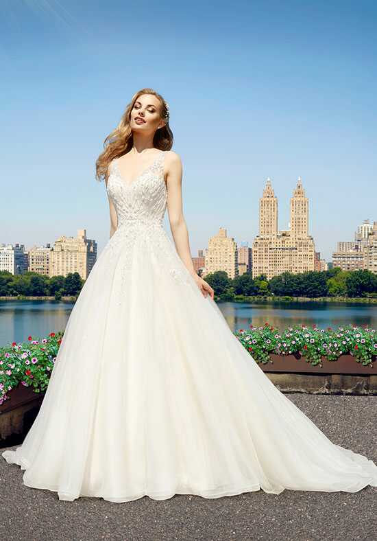 Moonlight Couture H1322 A-Line Wedding Dress
