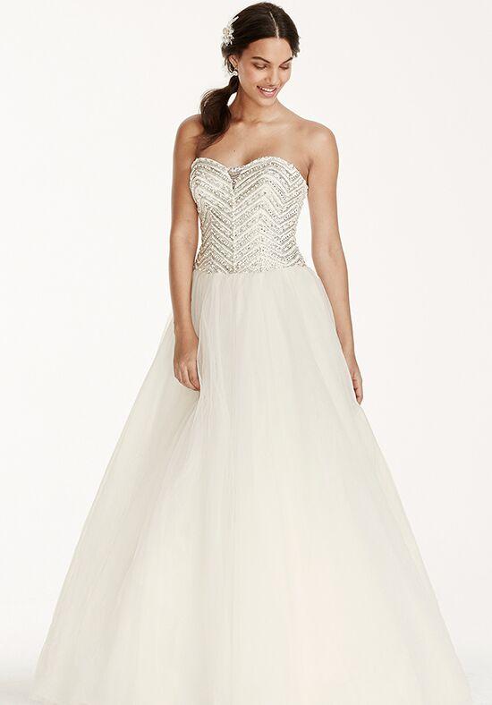 Davids Bridal Jewel Style WG3754 Ball Gown Wedding Dress