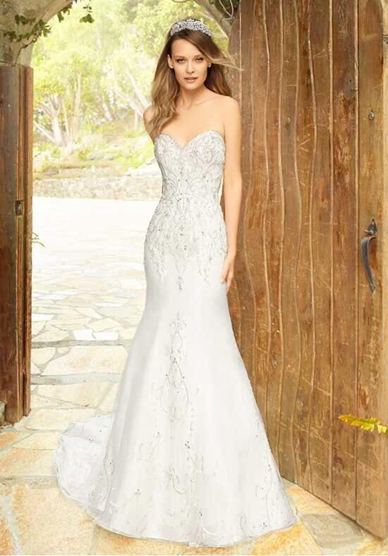 Moonlight Couture H1337 Mermaid Wedding Dress