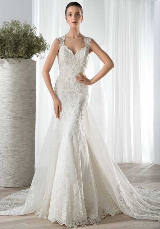 Demetrios 617 Mermaid Wedding Dress