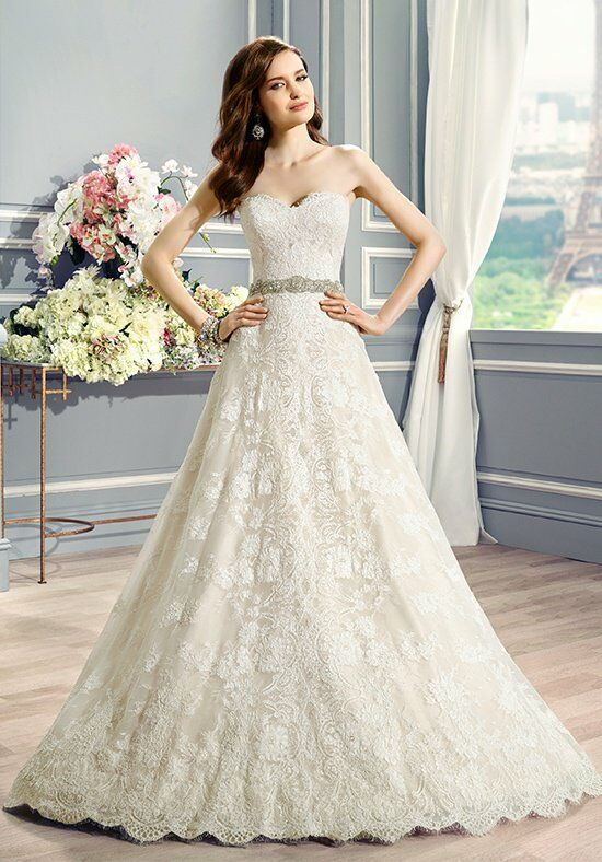 Moonlight Couture H1283 A-Line Wedding Dress