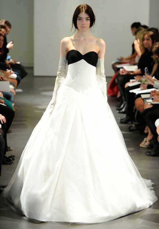 Vera Wang Spring 2014 Look 12 Ball Gown Wedding Dress