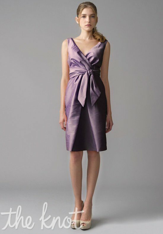Monique Lhuillier Bridesmaids 450001 V-Neck Bridesmaid Dress