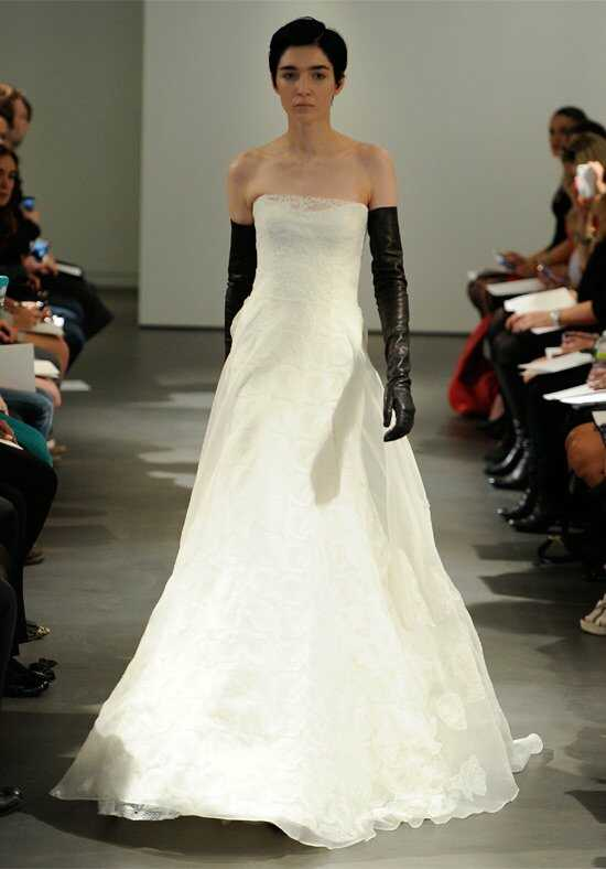 Vera Wang Spring 2014 Look 10 A-Line Wedding Dress
