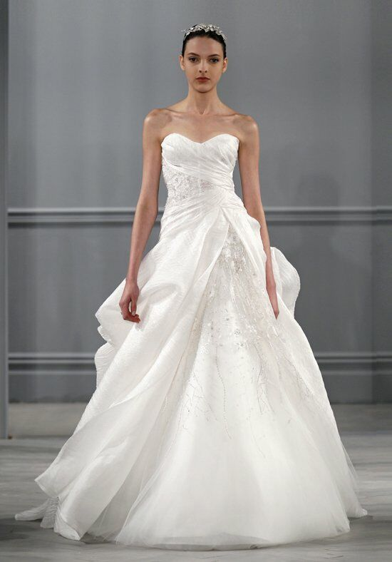 Monique Lhuillier Charade Ball Gown Wedding Dress