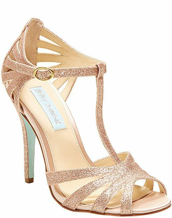 Blue by Betsey Johnson SB-TEE-Champagn Wedding Shoes photo