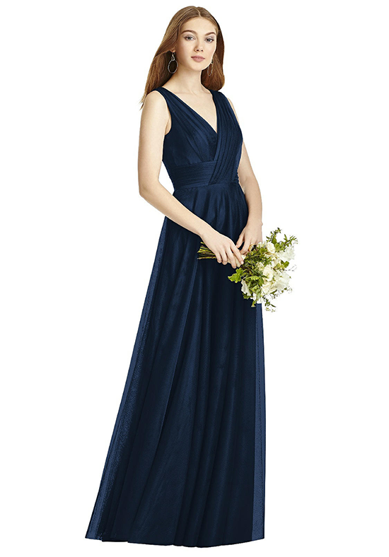 Studio Bridesmaids 4503 V-Neck Bridesmaid Dress