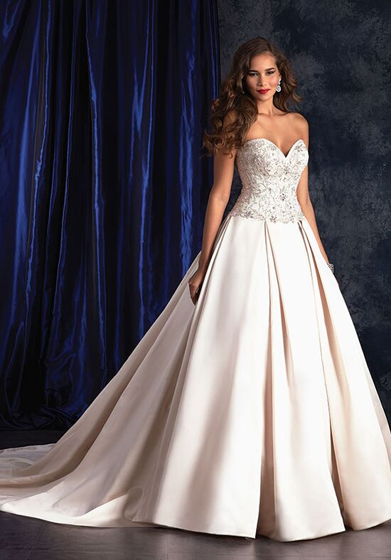 Alfred Angelo Sapphire Bridal Collection 407 Ball Gown Wedding Dress
