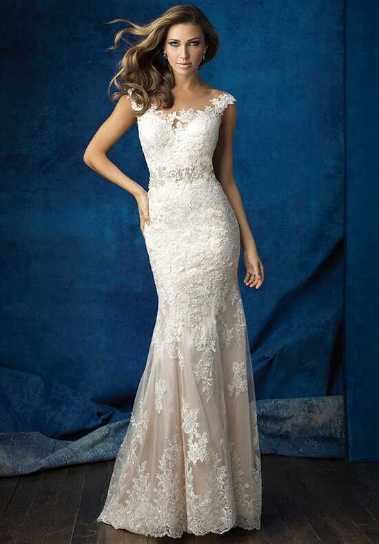 Allure Bridals 9371 Sheath Wedding Dress