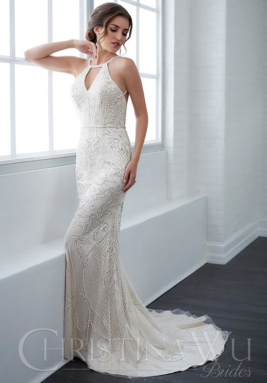 Christina Wu 15646 Sheath Wedding Dress