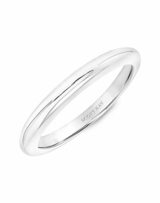 Scott Kay 31-SK5596W-L Platinum Wedding Ring