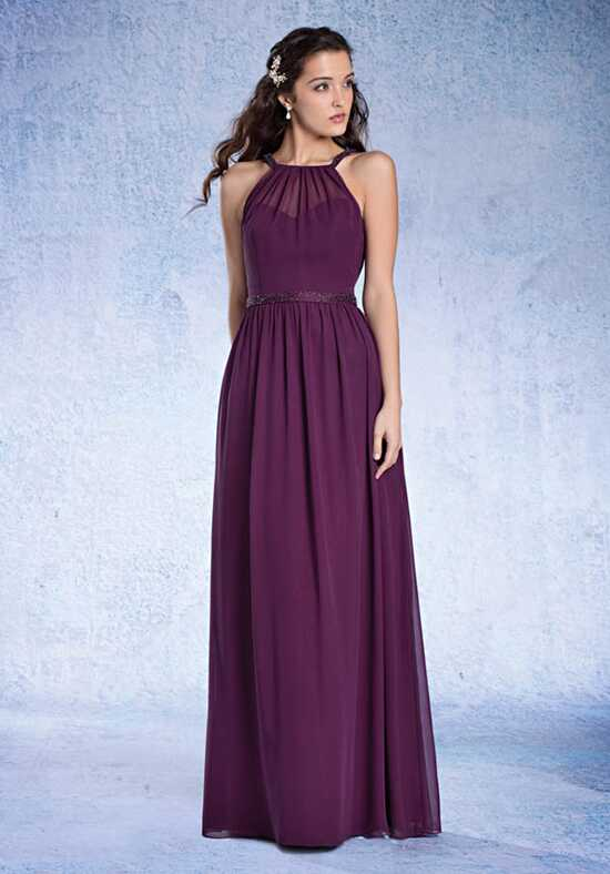 Alfred Angelo Sapphire Bridesmaid Collection 8104L Halter Bridesmaid Dress