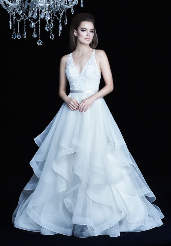 Paloma Blanca 4750 Ball Gown Wedding Dress