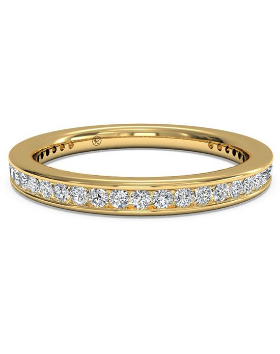 Ritani Women's Channel-Set Diamond Wedding Band - in 18kt Yellow Gold - (0.45 CTW) Gold Wedding Ring