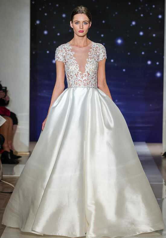 Reem Acra She's A Star Ball Gown Wedding Dress