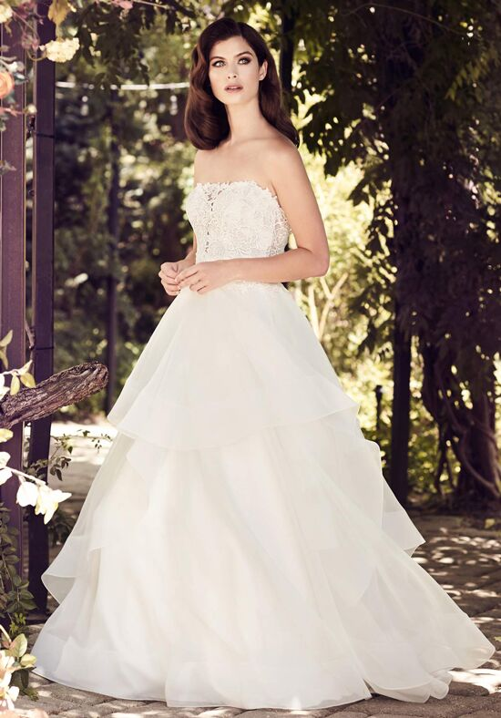 Paloma Blanca 4729 A-Line Wedding Dress