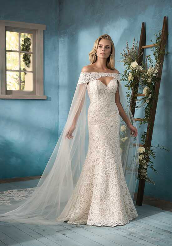 Jasmine Collection F191058 Mermaid Wedding Dress