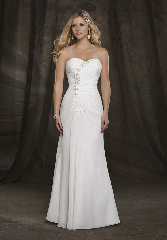 1 Wedding by Mary's Bridal 2511 A-Line Wedding Dress