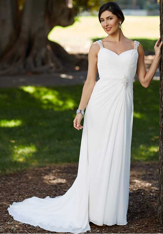 Pallas Athena PA9217 Sheath Wedding Dress