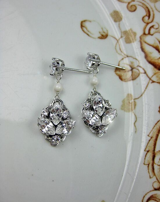 Everything Angelic Emma Earrings - e335 Wedding Earring photo