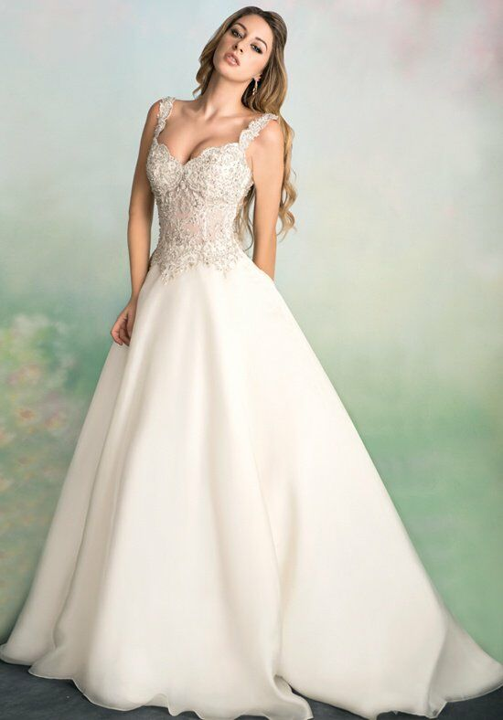 Ysa makino kym90 wedding dress the knot for Ysa makino wedding dress