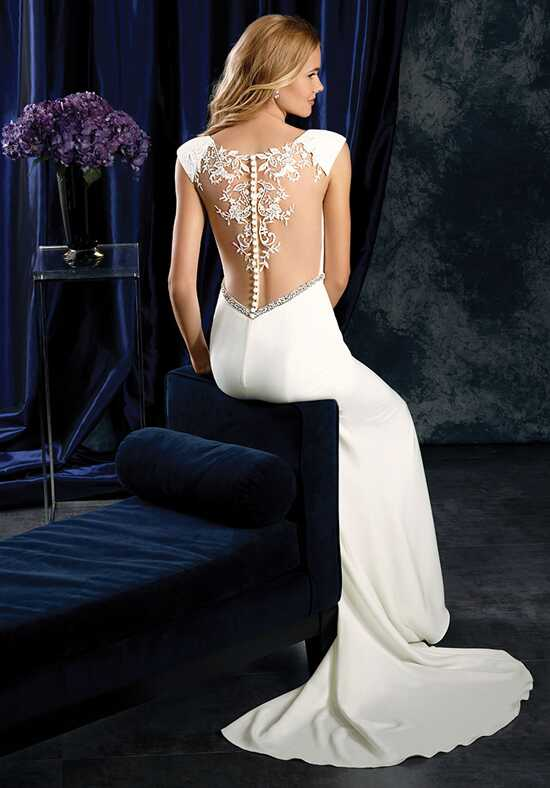 Alfred Angelo Sapphire Bridal Collection 401 Sheath Wedding Dress