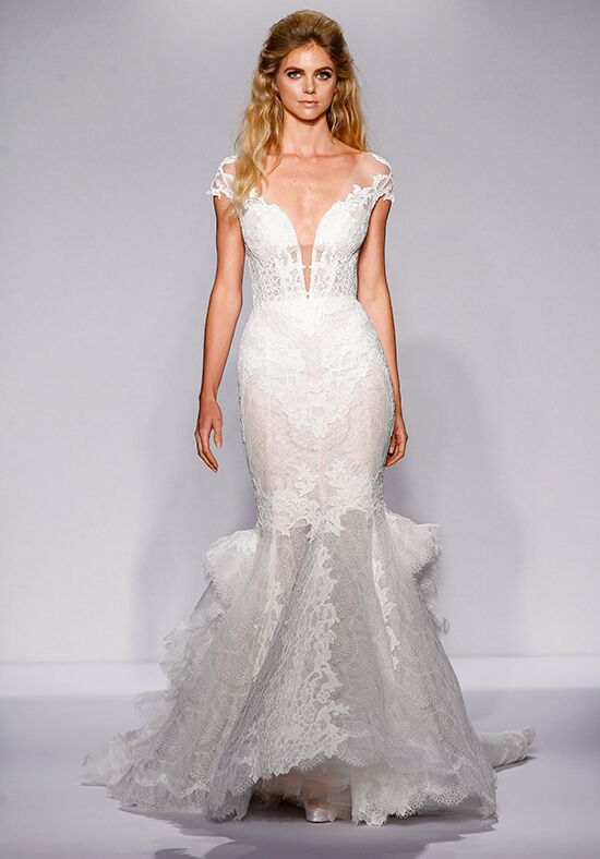Pnina Tornai for Kleinfeld 4444 Mermaid Wedding Dress