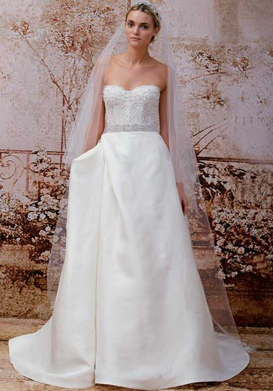 Monique Lhuillier Maxfield A-Line Wedding Dress
