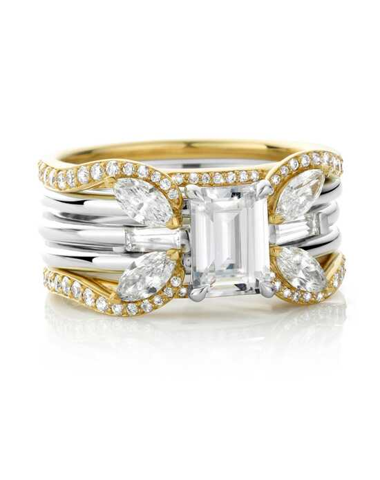 Laurence Bruyninckx Emerald Cut Engagement Ring