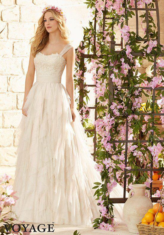 Morilee By Madeline Gardner Voyage 6808 A Line Wedding Dress