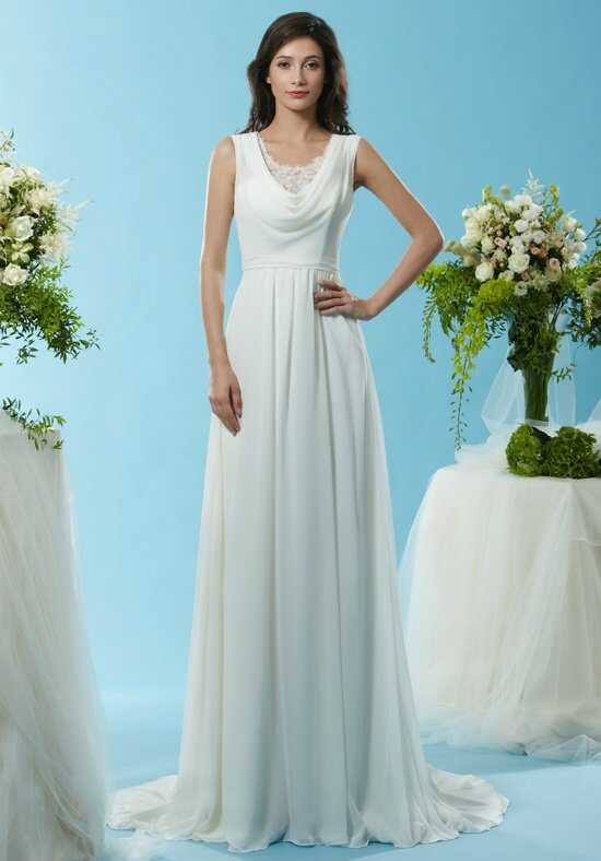 Eden Bridals SL067 A-Line Wedding Dress