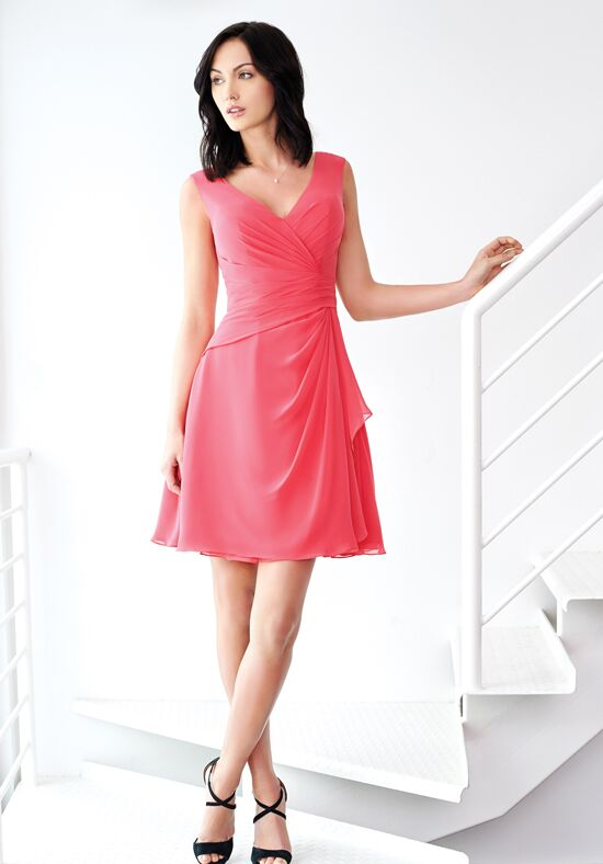 Colour by Kenneth Winston 5234S V-Neck Bridesmaid Dress