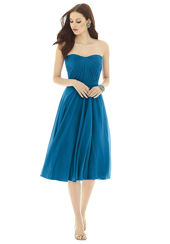 Alfred Sung D726 Sweetheart Bridesmaid Dress