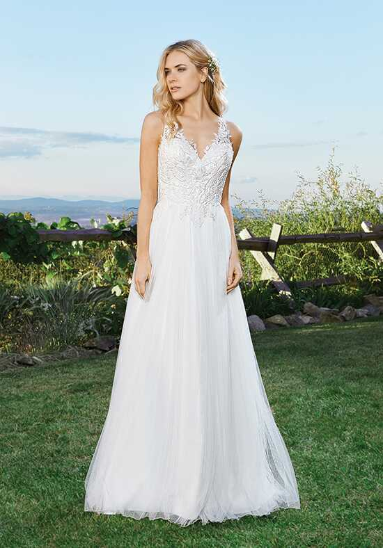 Lillian West 6433 A-Line Wedding Dress