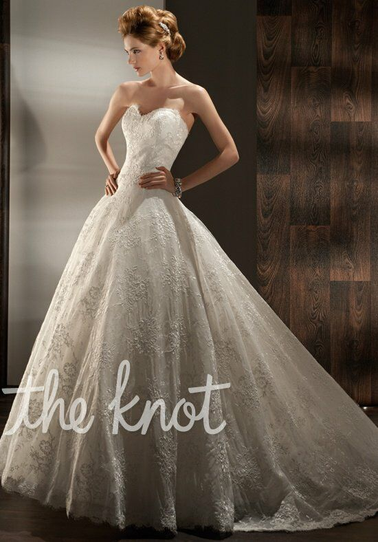 Demetrios 1434 Ball Gown Wedding Dress