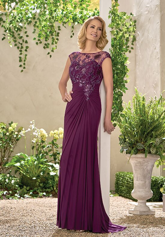 regal purple mother of bride dresses