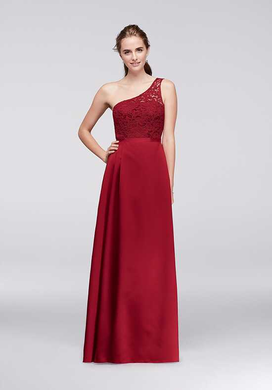 David's Bridal Collection David's Bridal Style F18058 One Shoulder Bridesmaid Dress