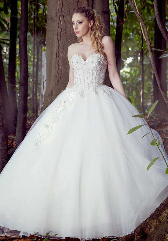 Ysa Makino KYM53 Ball Gown Wedding Dress