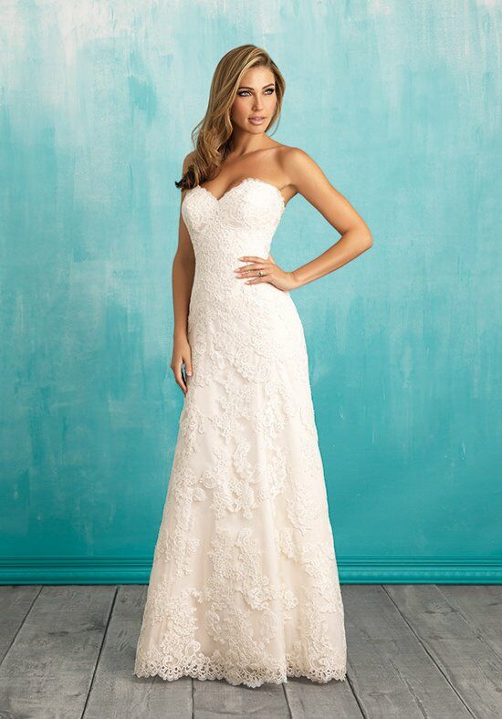 Allure Bridals 9309 A-Line Wedding Dress