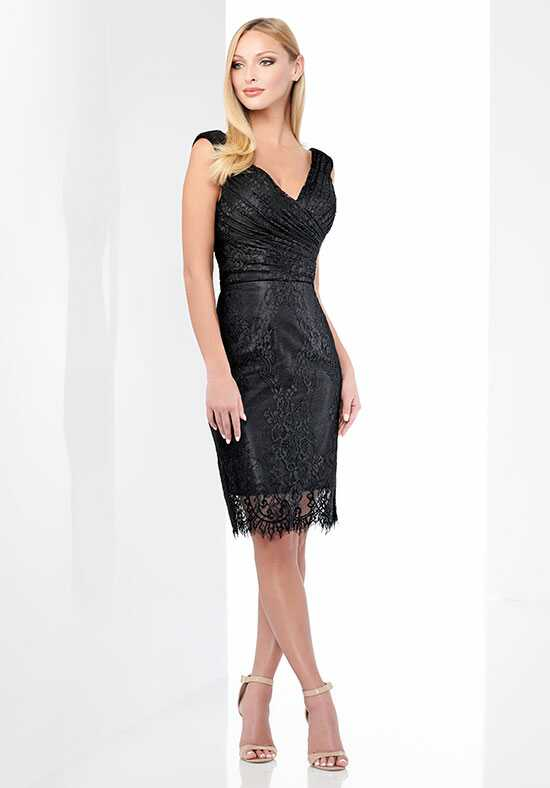 Social Occasions by Mon Cheri 218804 Black Mother Of The Bride Dress