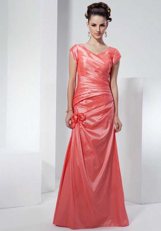 Modest Bridesmaids by Venus TS2187 Sweetheart Bridesmaid Dress