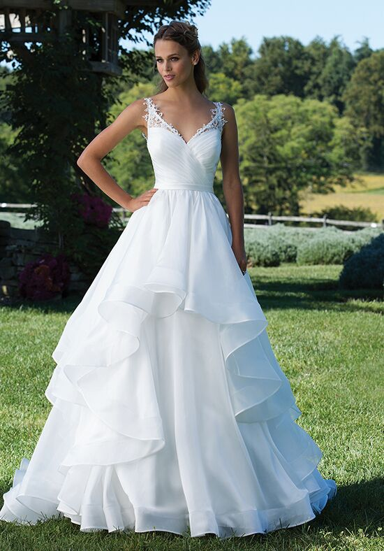 Sincerity Bridal 3993 Ball Gown Wedding Dress